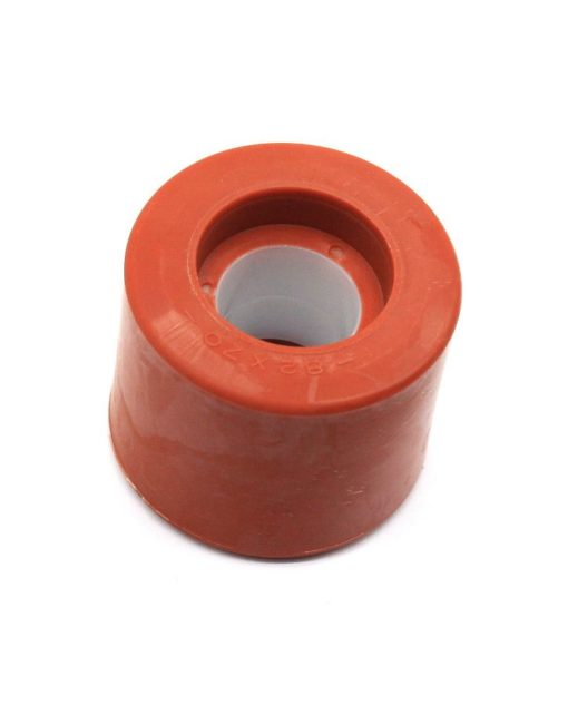 Crveni kotačići / plastika/poli